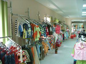 """Оборудование для магазина детской одежды """"Колибри"""""""