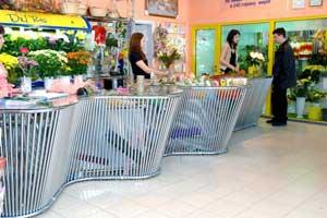 """Торговое оборудования для Цветочный дом """"Del Rio"""""""