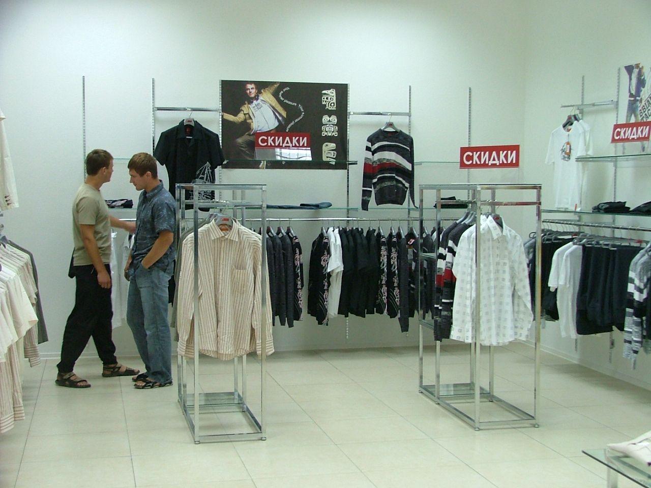 Модульные системы для магазина одежды R2 (ТРЦ Липецк)