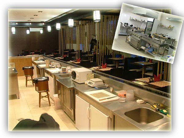 """Оборудование для ресторана японской кухни """"Кайтен"""""""