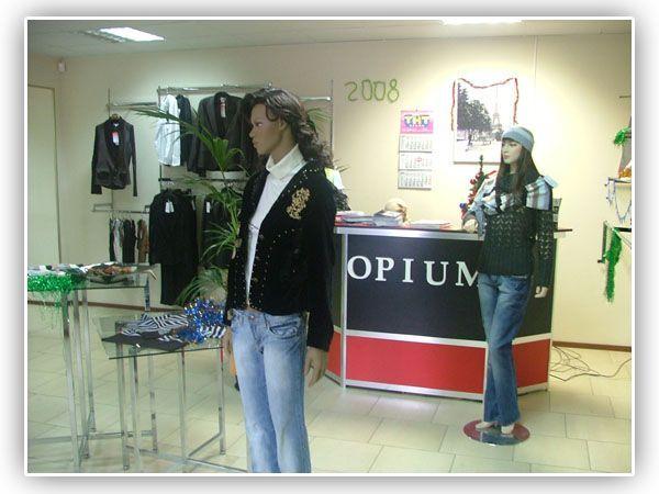 """Поставка для магазина женской одежды """"Opium"""""""