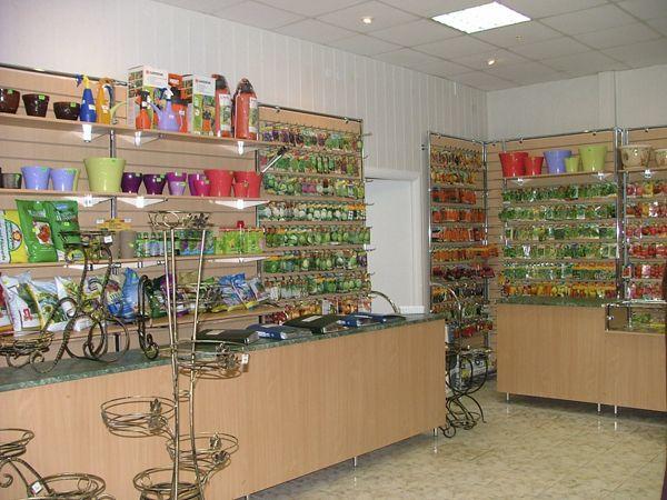 """Торговое оборудования для Цветочного магазина """"Садовод"""""""