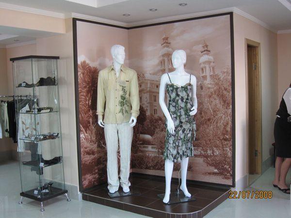 """Оборудование для магазина женской одежды """"Сан-Ремо"""""""