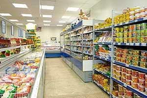 """Оборудование для супермаркета """"Росинка-Космос"""""""