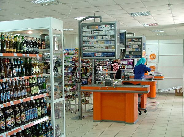 Оборудование для супермаркета Росинка, г.Анна