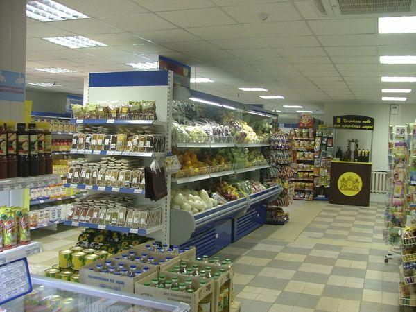 Торговое оборудование для супермаркета Росинка, г. Чаплыгин