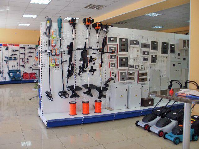 """Торговое оборудование для магазина """"Электрон"""""""