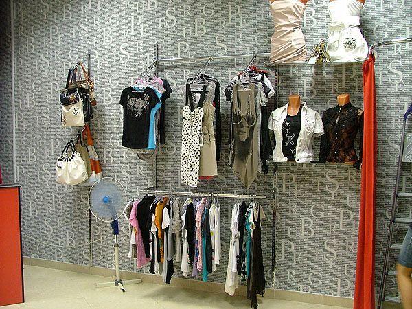 """Торговое оборудование для магазина женской одежды """"EVA"""", ТРЦ """"Европа-27"""""""