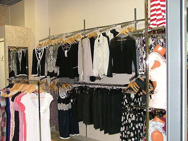 """Торговое оборудование для магазина женской одежды """"Мага"""", ТРЦ """"Европа-27"""""""