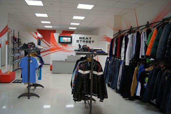 "Системы труб для магазина одежды ""BEAT STREAT"", ТЦ ""Европа"""