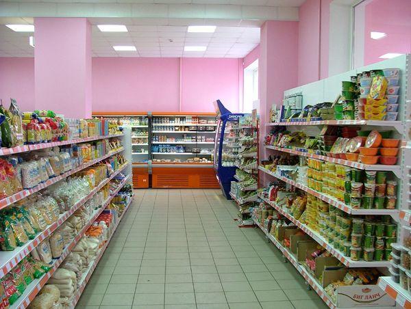 """Оборудование для магазина """"Росинка"""" г.Борисоглебск, Воронежская обл."""