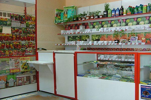 """Торговое оборудование для магазина """"Семена"""""""