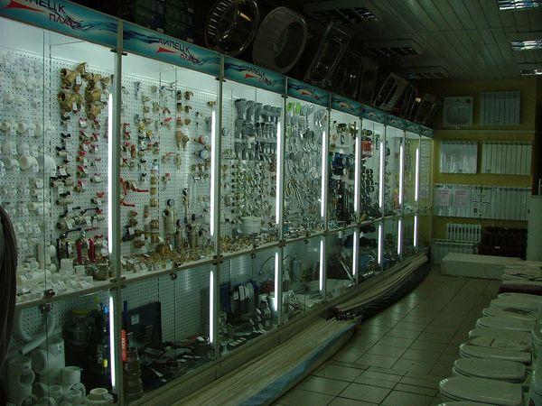 """Торговое оборудование для магазина """"Синий кит"""""""