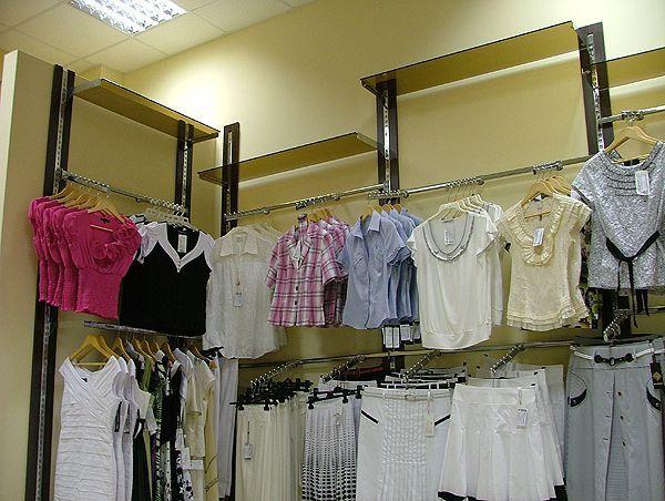 "Системы труб для магазина одежды P&V, ТЦ ""Европа"""