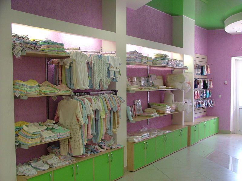 """Система труб, экономпанели для магазина детской одежды """"Гламурики"""""""