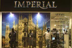 Сборная система труб для магазина ИМПЕРИАЛ