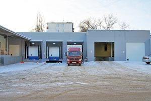 Липецкхлебмакаронпром, автоматические ворота