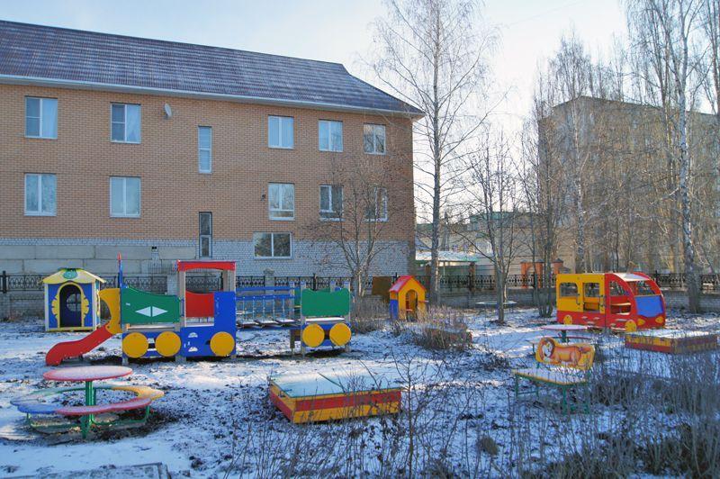 Детский сад №26, малые формы - детские площадки