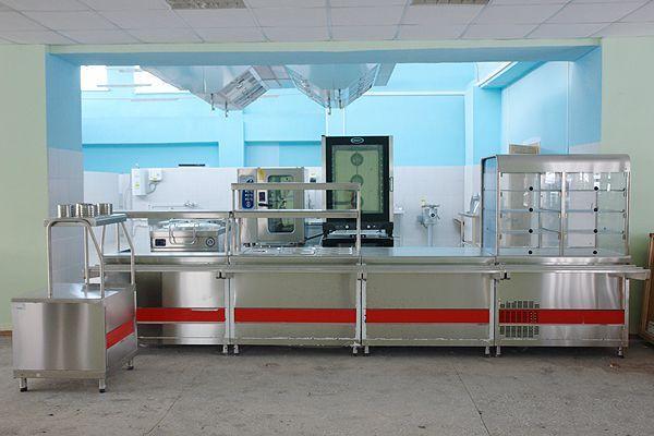 Аграрно-технологический техникум, оборудование для столовой
