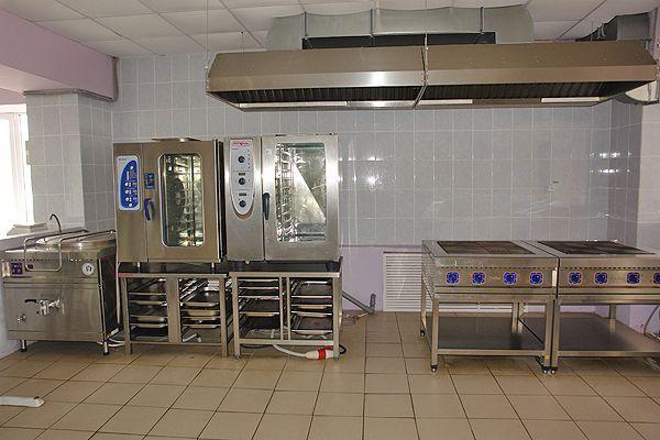 Оснащение столовой Многопрофильный колледж Тамбовская обл.