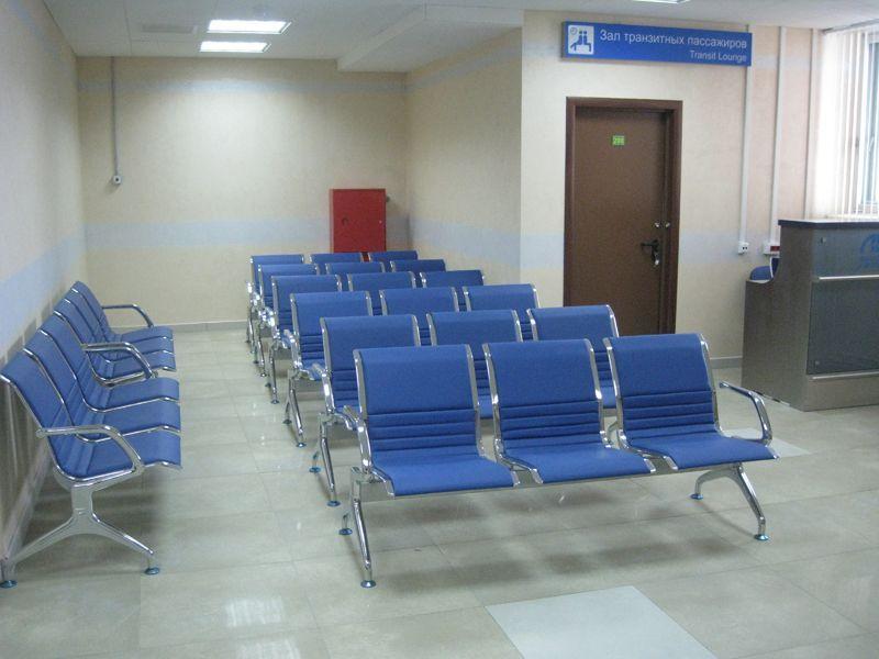 Липецкий аэропорт, поставка секционных стульев и мебели