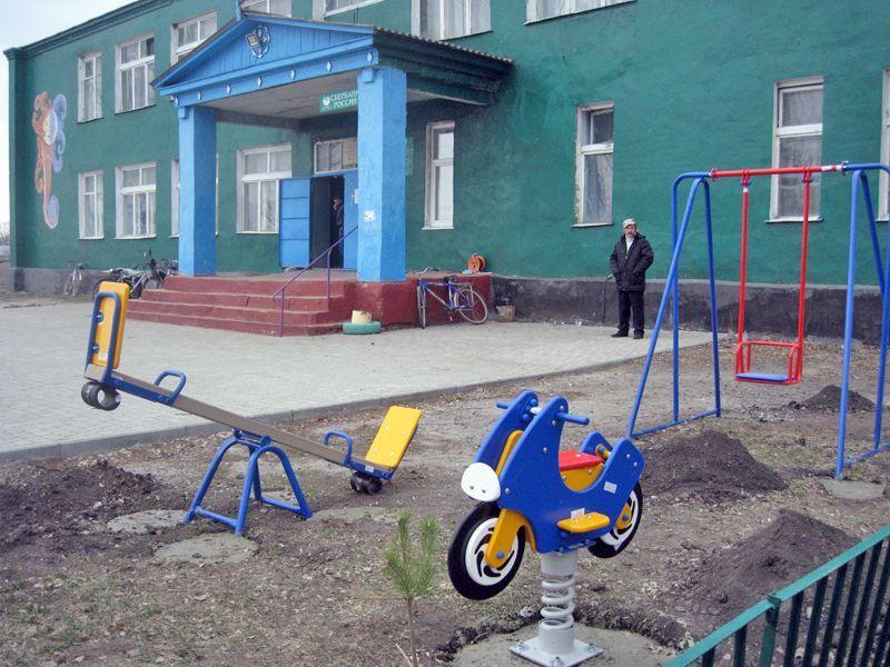 """Поставка и монтаж """"Детской площадки"""" с.Ратчино"""