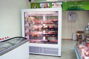 Поставка шкафа холодильного для сети Правильный цыпленок