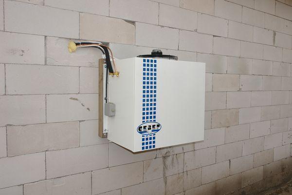 Поставка и монтаж холодильных камер и агрегатов для ПССК «ПОЛЯНА»