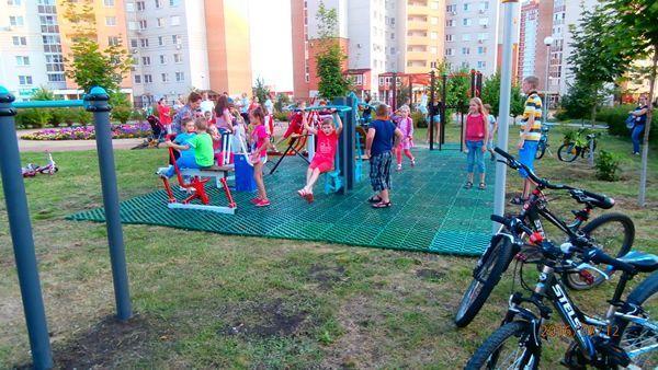 Поставка и монтаж Спортплощадки ГТО для МБОУ СОШ №29