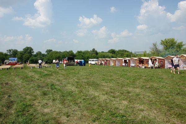 Поставка торговых палаток для фестиваля «Вольный Дон» г.Данков