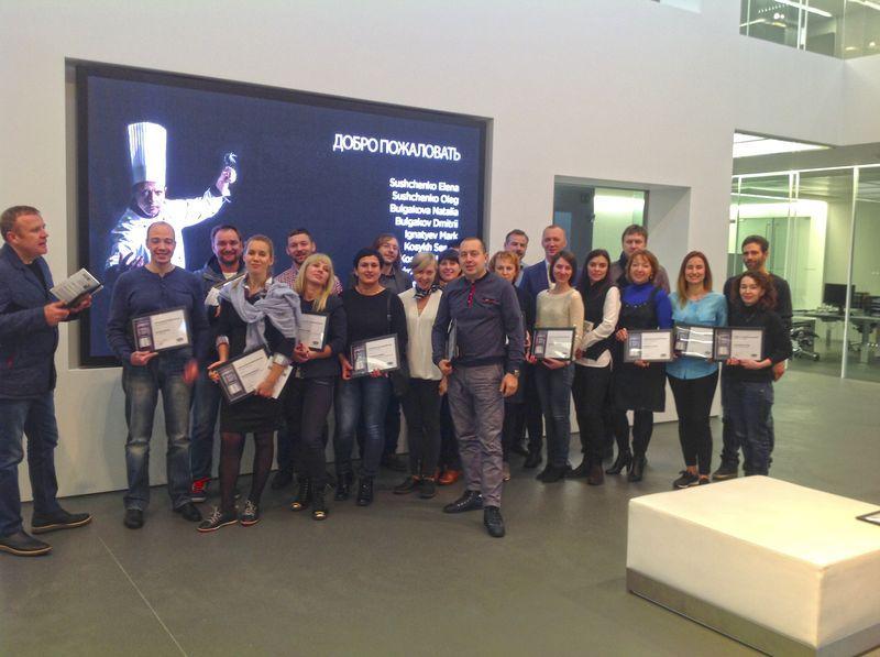 Сотрудники Компании «Улисс» посетили cеминар и мастер-класс на фабрике UNOX г.Падуя (Италия)