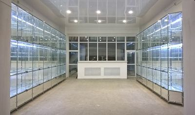 Поставка и монтаж витрин для Добринского межпоселенческого Центра культуры и досуга