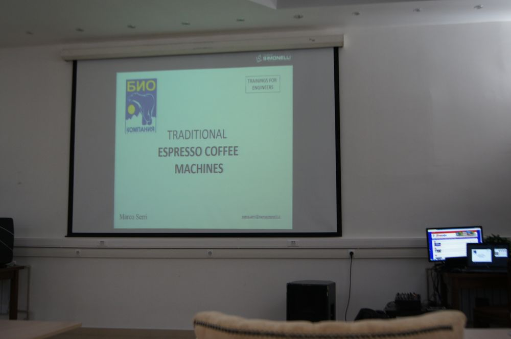 Сотрудники Компании «Улисс» посетили тренинг по кофейному оборудованию Nuova Simonelli