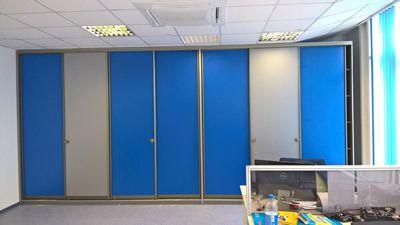 Поставка и монтаж шкафа для документов на заводе PPG Индастриз