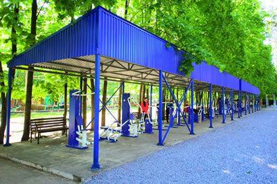 Поставка спортивного комплекса для МАУК «Парк Победы»