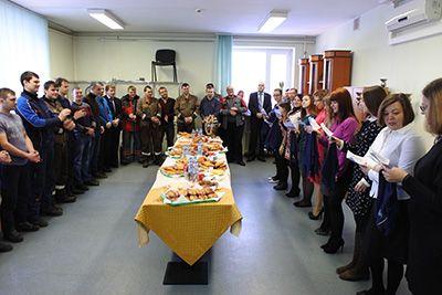 Благодарность пекарне «НАШ ХЛЕБ» за выпечку, приготовленную на оборудовании ГК «Улисс» на 23 февраля