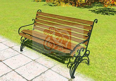 Современные кованые скамейки - украшение участка и комфортный отдых