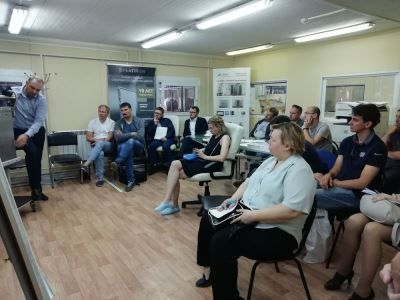 Обучающий семинар для менеджеров и монтажных бригад от завода ИРБИС