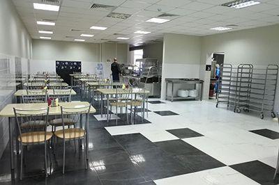 Проект столовой «под ключ» для ООО «КУЗМИНКИ»