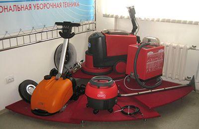 Современные машины для уборки и поддержки чистоты в помещениях