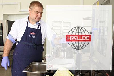 Тренинг для отдела продаж и презентация оборудования от компании HALLDE (Швеция)