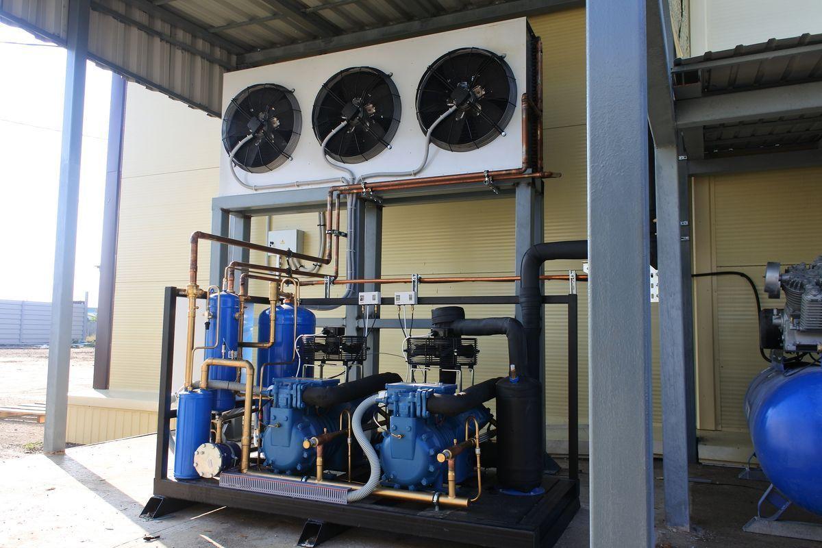 Поставка и монтаж холодильного и климатического оборудования для ПССПК «ПОЛЯНА»