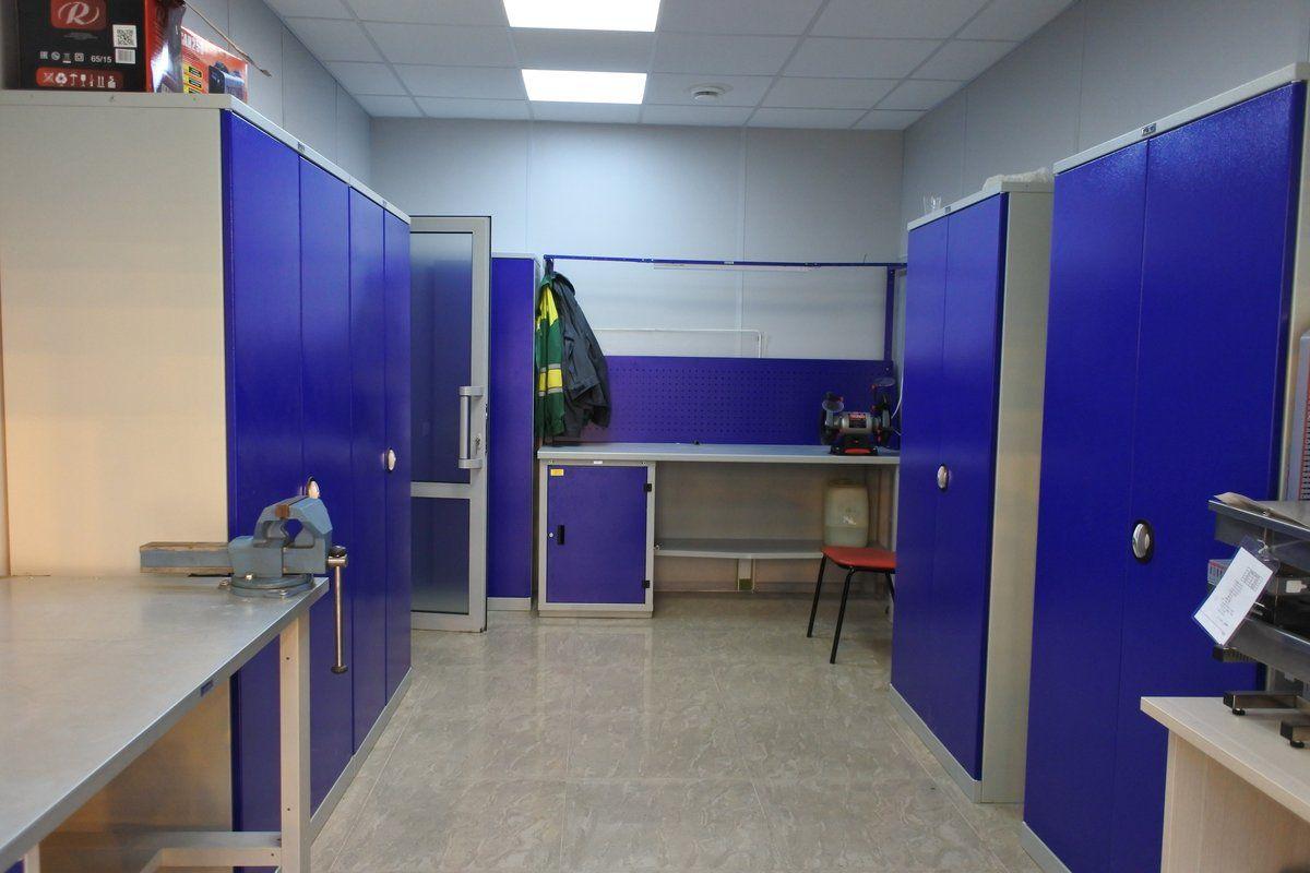 Поставка металлической мебели и стеллажей для ООО«ТК Елецкие овощи»
