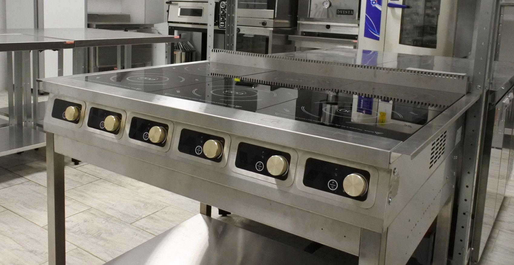 Плиты индукционные промышленные