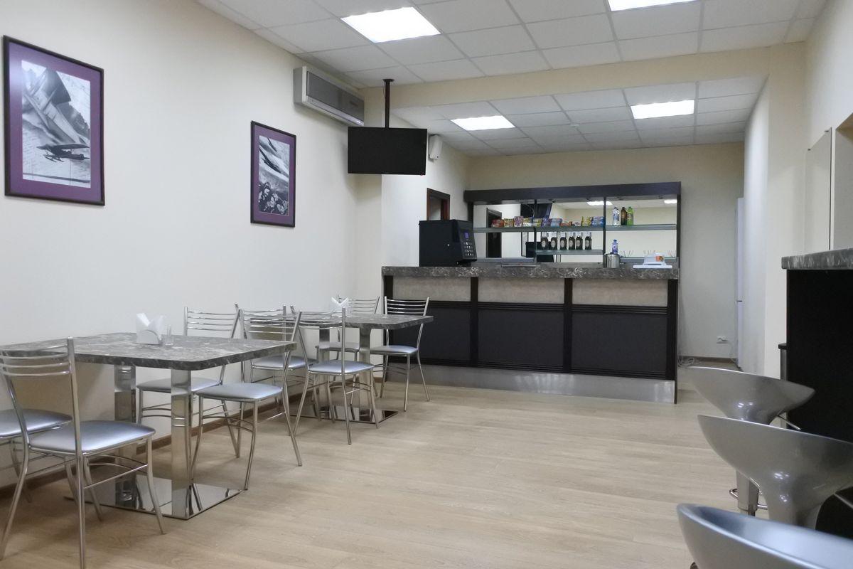 Поставка мебели и оборудования в кафе-буфет для ОГКП «Липецкий аэропорт»