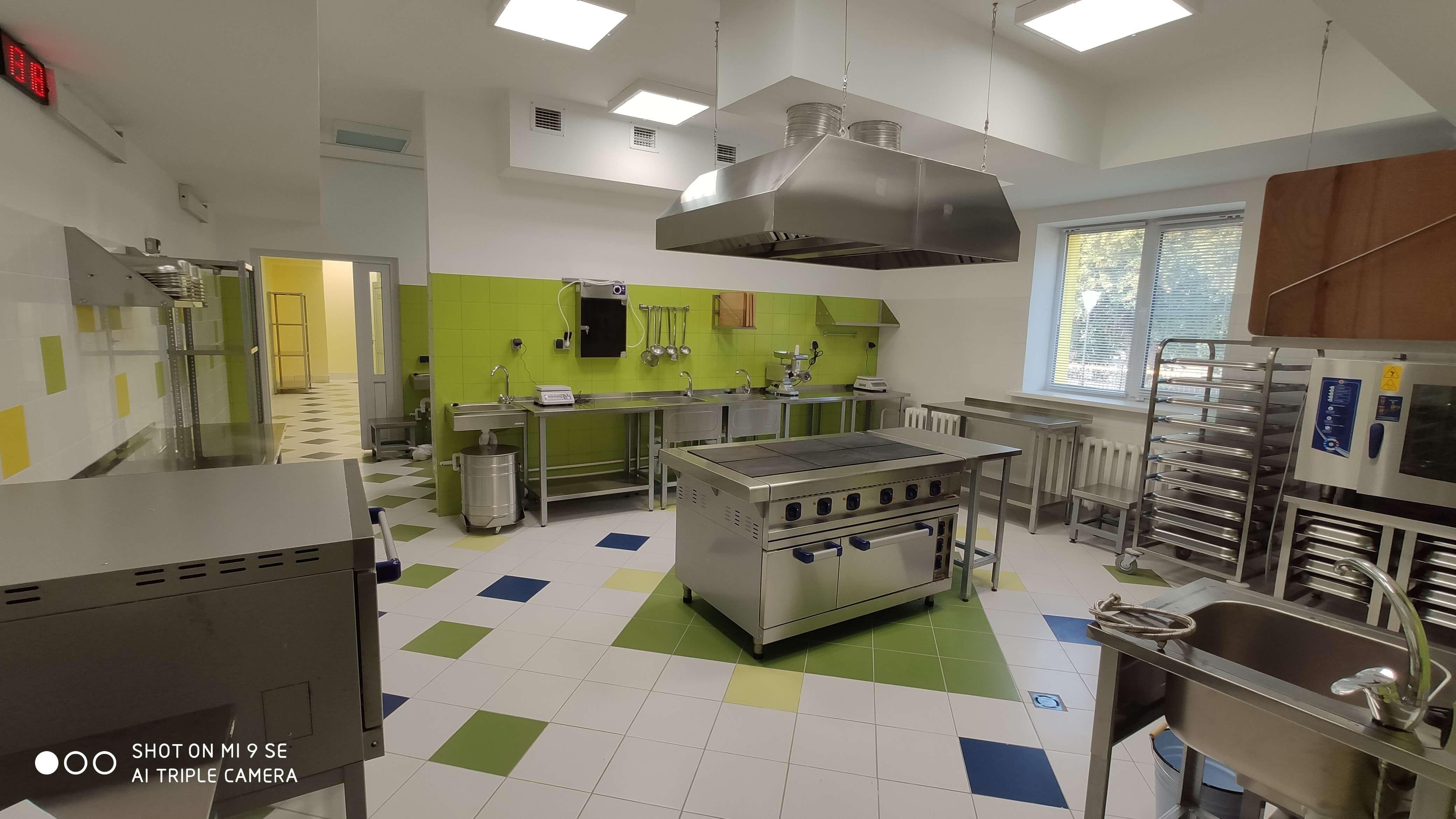 Проект пищеблока и прачечной для детского сада «Вишенка» в г. Уварово Тамбовский области