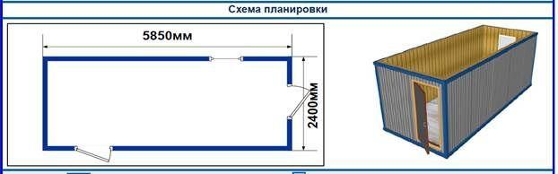 Блок- контейнеры БК-00