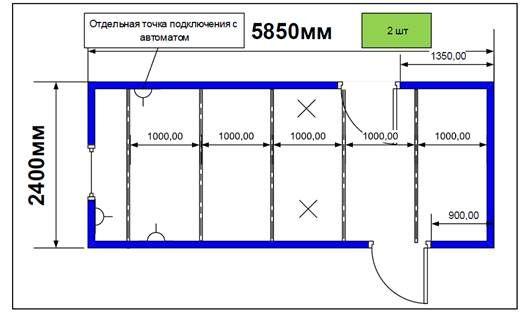 Блок- контейнеры СБК-00