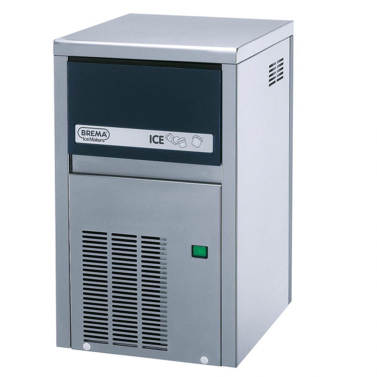 Льдогенератор BREMA CB 184 W ABS кубикового льда фото, купить в Липецке | Uliss Trade