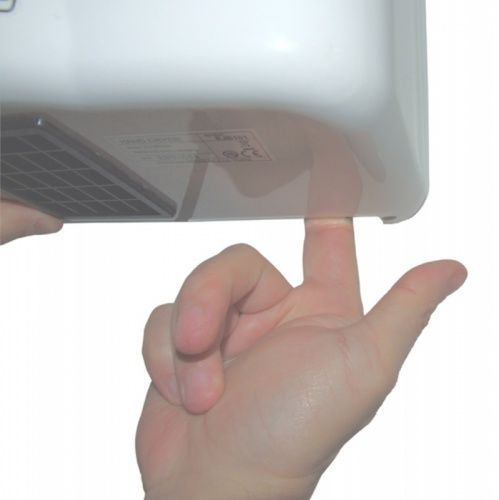 Рукосушитель электрический ECOFLOW, белый ABS-пластик